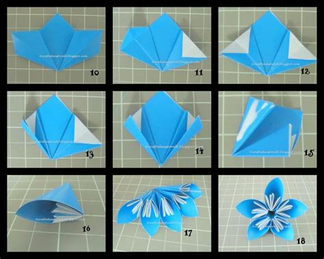 how do you make origami flowers craft ideas for all kusudama flowers in a vase