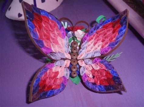 paper butterfly craft ideas you to see quilled 3d butterfly on craftsy