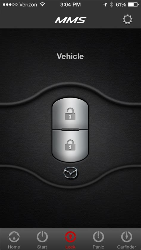 Car Apps For Simplicity by Mazda Mobile Start Is A Remote Engine Start App For