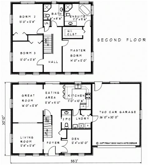 sle floor plan for 2 storey house two storey house plans 100 images 2 home plans two