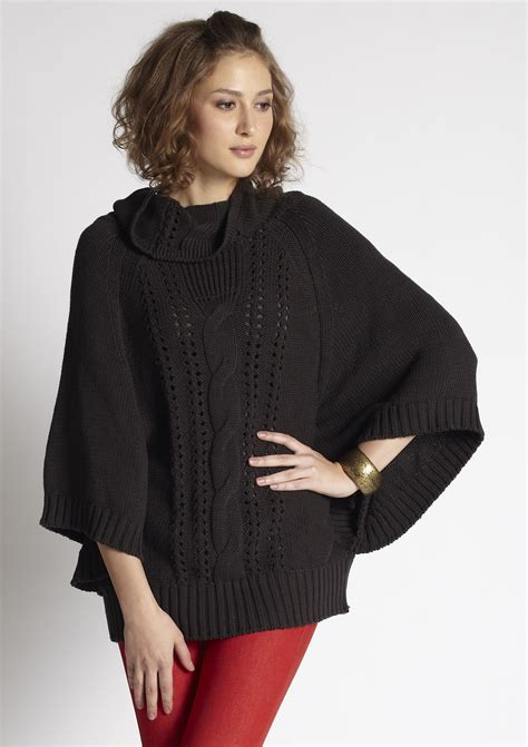 cable knit poncho sweater mothers en vogue cable knit nursing poncho sweater