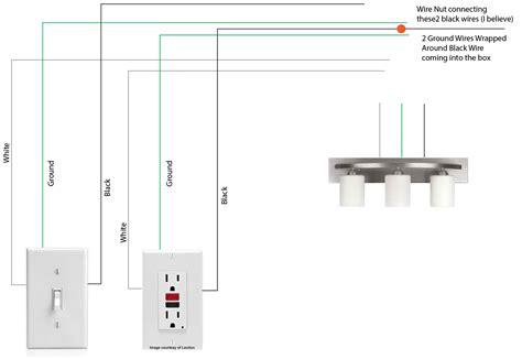 light fixture wiring diagram diy light fixture wiring diagram house wiring diagrams for