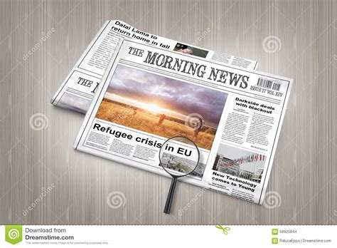 woodworking articles eu refugee crisis breaking news in newspaper on a table