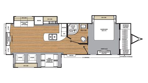coachmen travel trailer floor plans 2018 coachmen legacy edition 333rets model