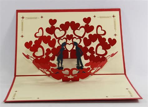 how to make pop up anniversary cards 3d pop up cards birthday anniversary special