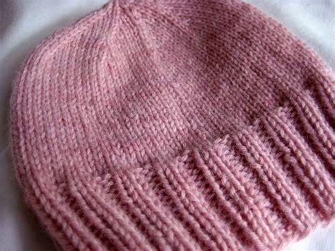 basic knit hat pattern basic baby beanie free pattern knitting for baby