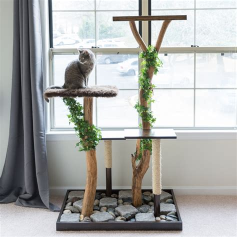 tree for cats make a cat tree using real branches my amazing diy cat tree