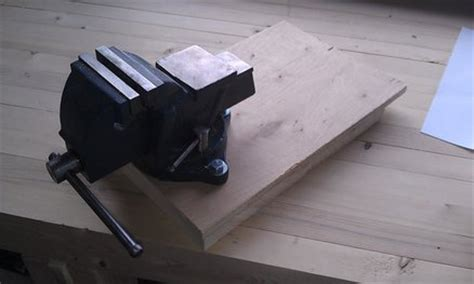 how to mount a woodworking vise bench vise appliance mount by raggedkerf lumberjocks