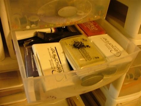 organizing card supplies organizing scrapbook supplies see what i do to keep my