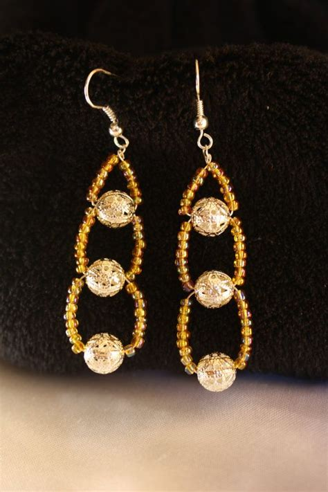how to bead earrings with seed best 25 seed bead earrings ideas on beaded