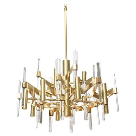 chandelier plates large gold plate and chandelier by gaetano