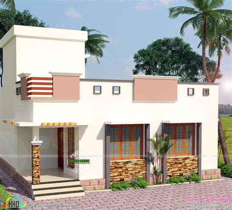 home design plans for 900 sq ft 900 sq ft 2 bedroom modern home kerala home design and