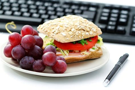 office food how to eat healthy at work and thirty