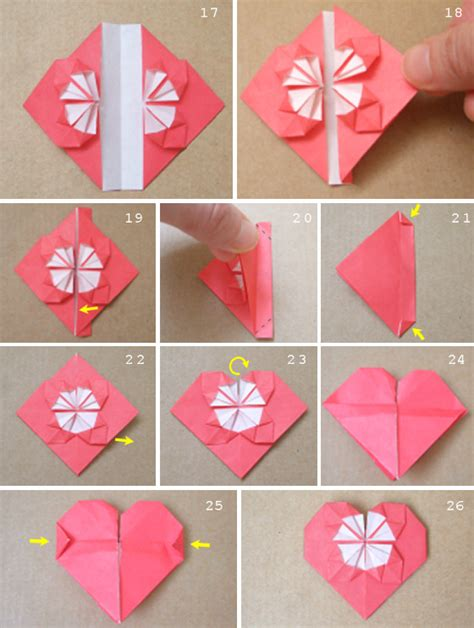 origami hearts sweet origami hearts bloomize