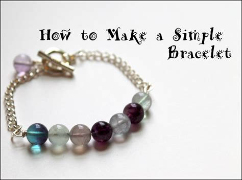 what you need to make jewelry how to make a bracelet with and chain emerging
