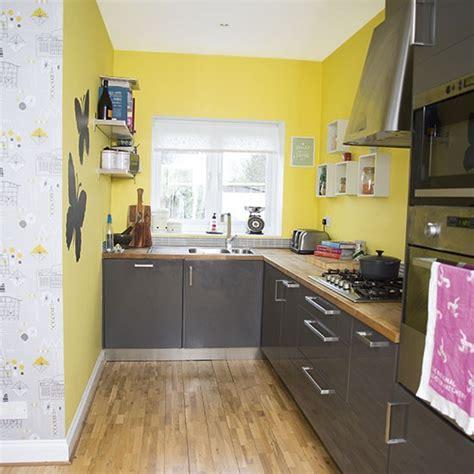 yellow and grey kitchen decorating housetohome co uk