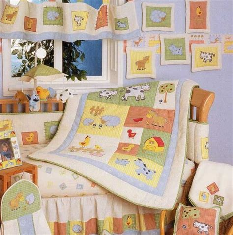 barnyard crib bedding baby stores barnyard 6 crib bedding set by kidsline