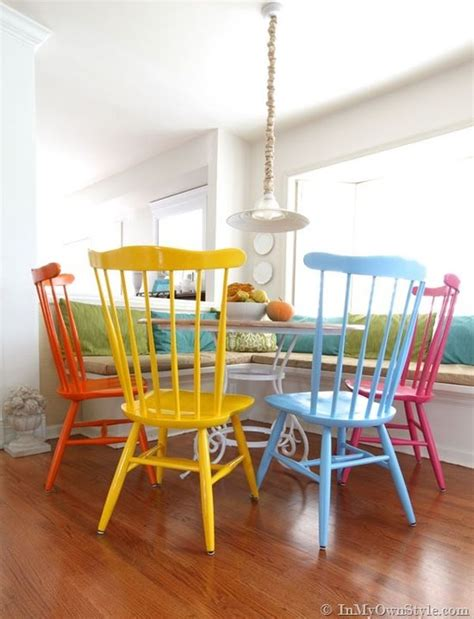 spray painting kitchen chairs how to change your home s look without spending a fortune