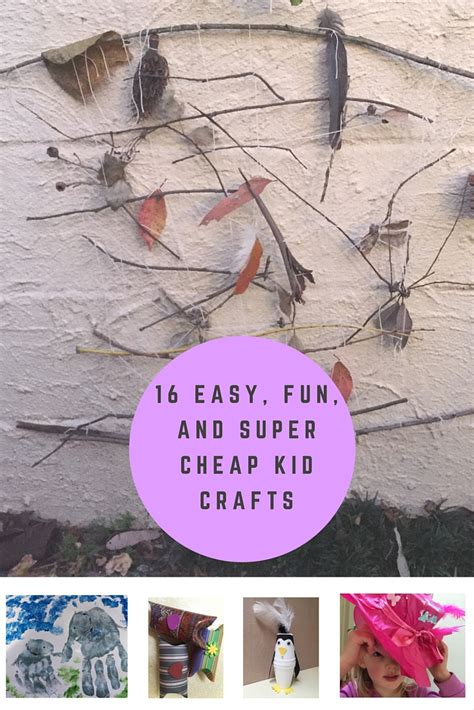 cheap kid crafts 16 easy and cheap kid crafts gleeful grandiva