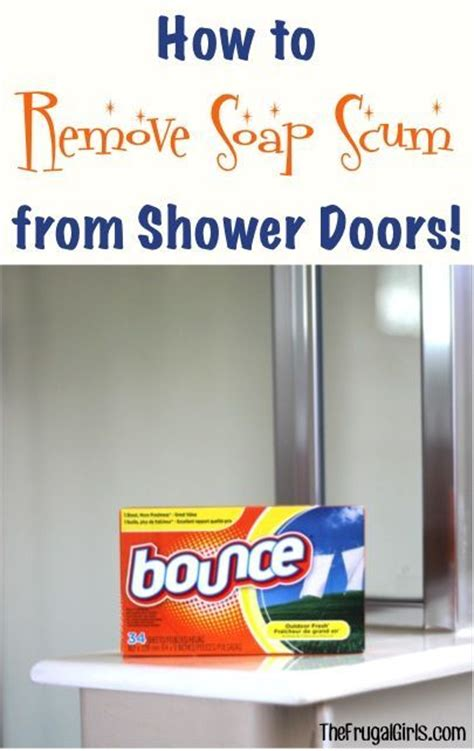 removing soap scum from shower door 1000 ideas about soap scum on shower cleaning