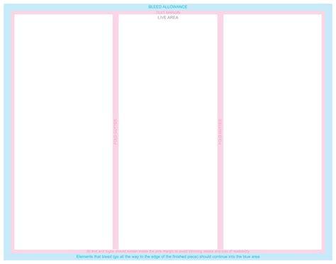 bi fold brochure template word 6 best agenda templates