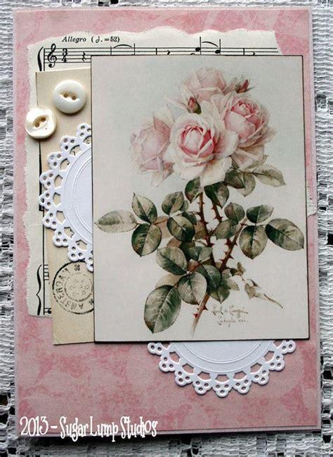 vintage card ideas best 25 vintage handmade cards ideas on