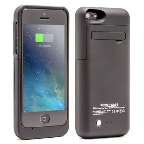 funda cargador iphone 5s funda bater 237 a negra para iphone 5 5s 5c se