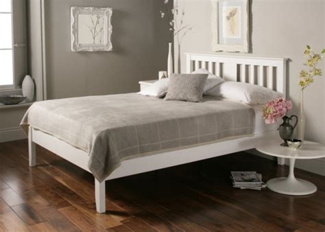 simple white bed frame malmo white wooden bed frame painted wood wooden beds