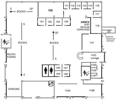 library floor plan floor plans steenbock library