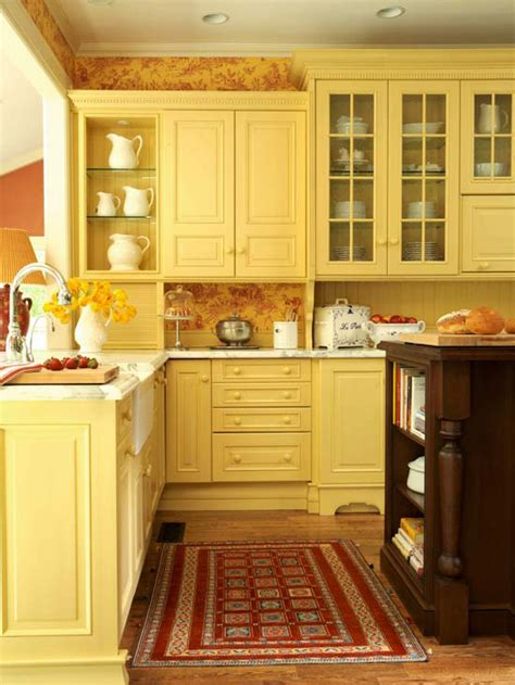 yellow kitchen decorating ideas modern furniture traditional kitchen design ideas 2011 with yellow color
