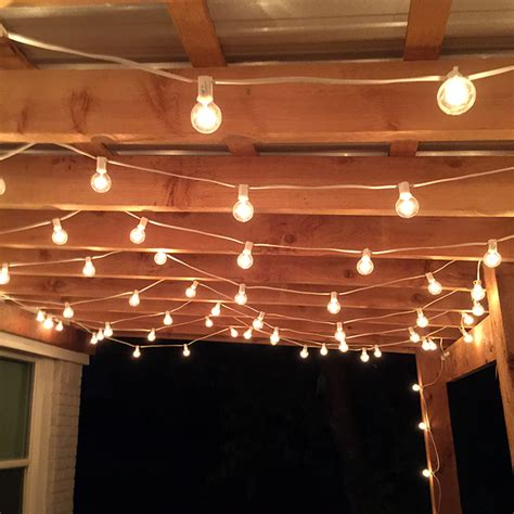 hanging lights patio hanging lights patio renter solution brightening your