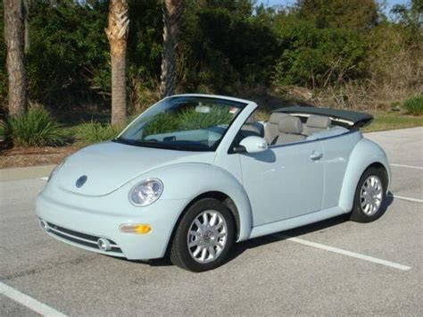 2004 Volkswagen Beetle Convertible by 2004 Volkswagen New Beetle Used Cars In Sarasota Mitula Cars