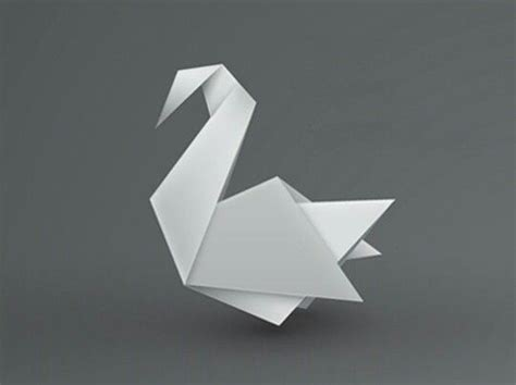 origami swan 25 best ideas about origami swan on simple
