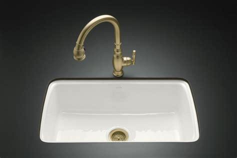 undercounter kitchen sink kohler cape dory undercounter kitchen sink in white the