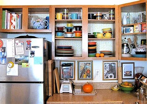no door kitchen cabinets 10 easy ways to give your rental kitchen a makeover 6sqft