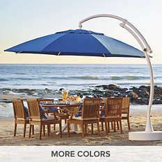 frontgate patio umbrellas 1000 ideas about outdoor umbrellas on patio