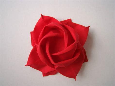 rosa de origami origami rosa paso a paso imagui imagui