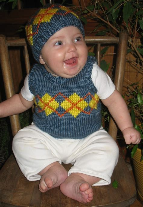 how to knit a baby sweater vest vests for babies and children knitting patterns in the