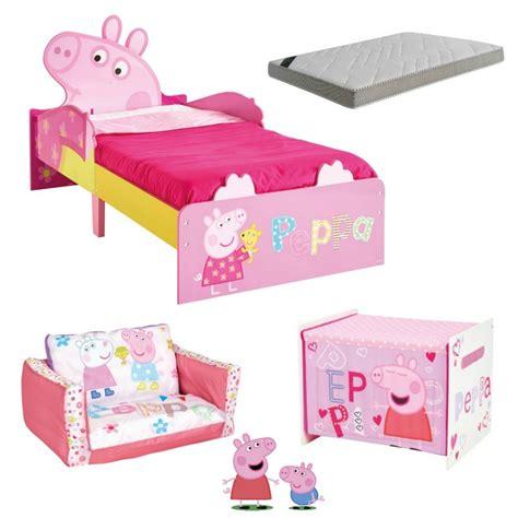 peppa pig bedroom furniture peppa pig room 140 x 70cm bainba