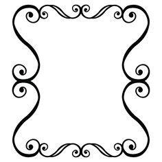 resultado de imagem para moldura preta arabesco molduras