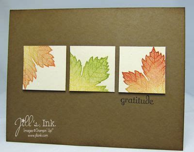 how to make greeting cards with leaves 9 best images about magnificent maple on ink