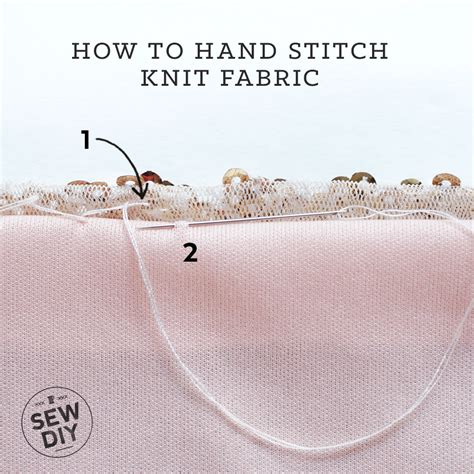 how to sew knit fabric how to stitch knit fabric sew diy