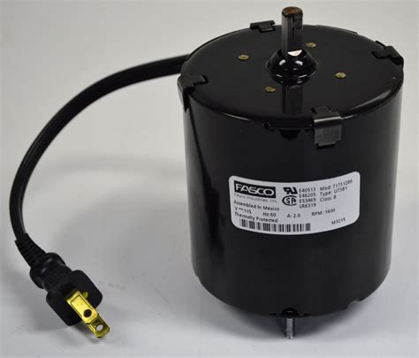 All Electric Motors by Fasco U73b1 Electric Motor 115v 60 Hz 2 0 A 1600 Rpm 3