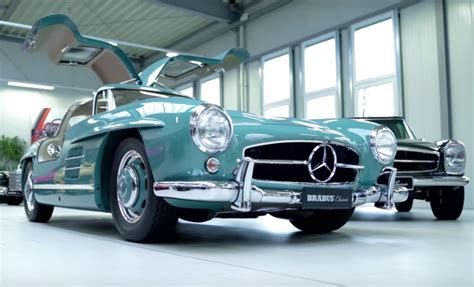 Mercedes Classic Cars by Four Classic Mercedes Cars Restored By Brabus