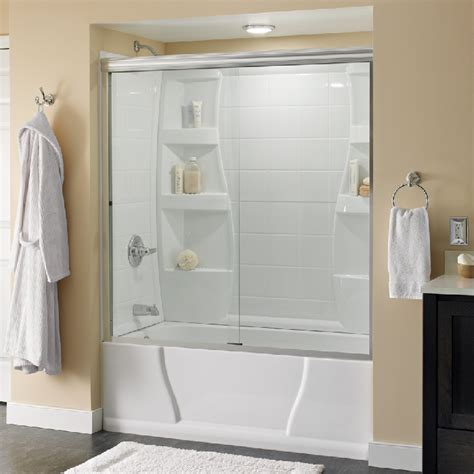 delta glass shower doors customize shower door