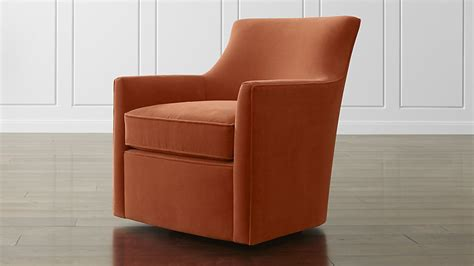 crate and barrel swivel chair clara swivel chair crate and barrel