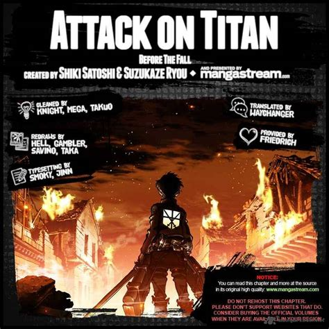 attack on titan chapter 1 attack on titan before the fall 1 read attack on titan