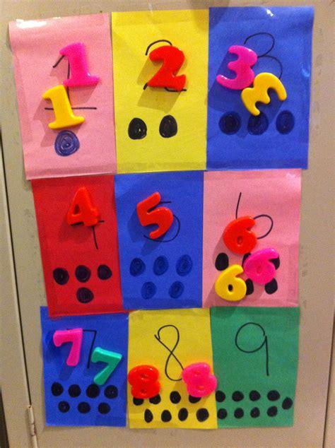 number craft for toddler number learning craft toddler crafts