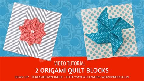 origami blocks september 2017 deb s tutorials