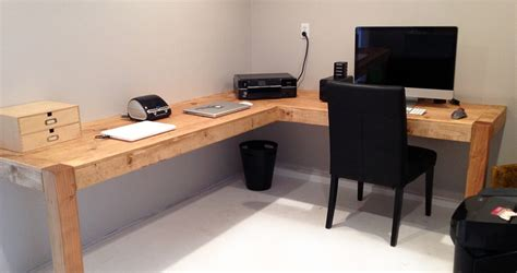 how to build an office desk home office time for a project